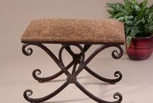 Benches ~ Ottomans ~ Barstools