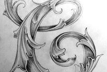 Dibujos y letras