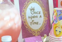 princess theme birthday party