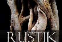 ivy roots wood sculpture rustic design / Roots from our laboratory, Florence, Tuscany, Italy.