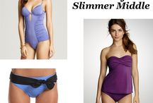 Buy The Perfect Swimsuit for your Body type. / Don't go swim suit shopping without checking out your body type! No Sense in getting depressed.