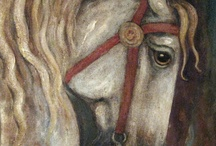 Artistic Horses / Equine spirit and beauty captured in paint or photography. / by Marie Wise