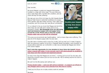 Nonprofit Fundraising Emails / Good examples of nonprofit fundraising emails.  / by Salsa