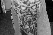 harley davidson tattoos ideas