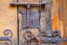 old doors locks