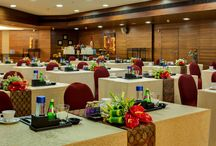 Meetings, Conferences, Exhibition Space/Banquet Halls / Built to complement every event and celebration, serving guests with a fine balance of international and Indian hospitality  / by Hotel Sahara Star
