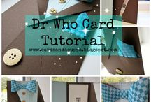 Dr Who Inspired Cards