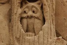 Sand(sculptures) / by Marion Wiering