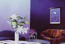 Purple Interiors / What Purple can provide for your office interiors!  Uplifting   Calming to mind and nerves   Offers a sense of spirituality and wisdom   Encourages creativity and success