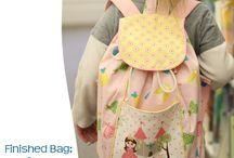 dětské kabelky,batohy,kapsáře