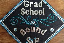Mortar Board Inspiration / Graduation is almost here and what a better way to celebrate the day and stand out from the crowd than with an awesomely decorated cap.  / by Pace University