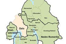 Kart og reiser / Steder i Norge og utlandet