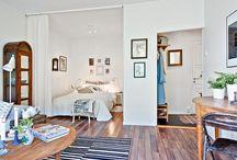 Inspo lägenhet - säng