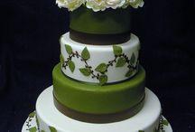G R E E N cake