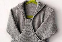 Вязание.  Кофты, свитера