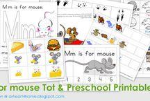 Alphabet Letter M / Activities for learning alphabet letter M in preschool