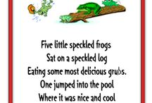 Frog nursery rhymes