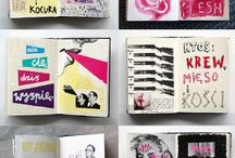 Creative | Notebook / Journals, diaries, notes and so on...