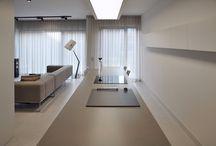 HOME, HOUSE, APARTMENT _ PULVA _ A.04 / PULVA, minimalistic, interior design, minimal, modern, materials, home, homestyle, house, dom, kitchen, living room, bathroom, dining room