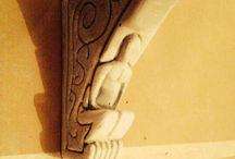 Sculture GasBetoon 1 / sculture create su mattoni di cemento soffiato, creatività e libertà di immaginazione, delicati nella lavorazione data la collaborazione di più elementi polverosi messi insieme, leggeri per la perline espansa