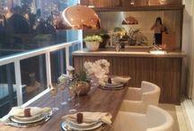 Varandas e espaço gourmets