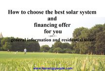 "Solar Energy Book: ""How to choose the best solar system and financing offer for you."" / 1. It's about solar PV. 2. Solar energy is no longer about saving the planet or the environment. It is now a very personal business and involves anyone who uses electricity, which is...everyone.  3. The book explains solar from the perspective of an every day user. It is a step by step guide showing people how solar is beneficial for them. It also walks them through how to obtain the best solar solution on the market.  4. It's a good read, interesting, not too long, full of real life examples."