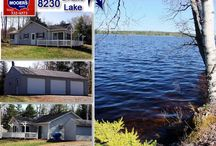 SOLD | 236 Channel Road Drake Lake Forest ME 04413 / Northern Maine Real Estate Property Listing.