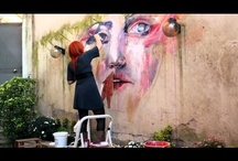 Videos of artists at work