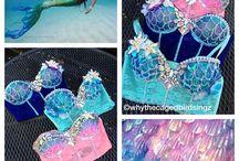 mermaid halloween ideas