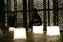 Illuminated Furniture / Illuminated Furniture powered by the award winning Neoz Cordless Lamp System