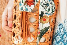 Silk Scarf Styling / Inspiration for how to wear, tie and style a vintage silk scarf around your neck, in your hair, or on your wrist.
