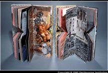 Art Journaling, sketchbook,altered books, Artist's books