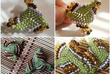 Бисер: плетеная геометрия из бисера