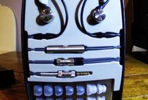 "In-Ear Monitor Headphones / Headphones that fit inside the ear, known as ""in-ear"" monitors."