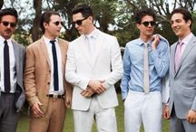 Grooms & Groomsmen / by The American Wedding