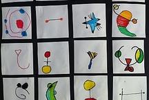 ART AMB MIRÓ / Joan Miró / by Aina