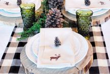 xmas table settings