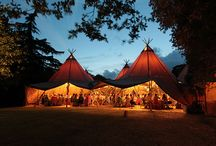 Festival Weddings / Our tipis are the perfect tent for your festival wedding!  We've collecting some great ideas to make your festival wedding go with a bang!