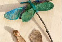 DIY Barn natur / Kids nature crafts