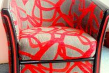 LE Dé En OR, fauteuils, vente de tissu...