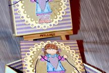 Коробочки открытки