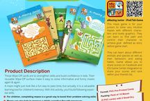 Wipe-Off Fun & Learning Cards / Little Tree House Apps & eBooks presents fun learning products for kids. Our Wipe-off card products are reusable and can be used for longer time. Products are comprises of different colorful activity cards and packaged as different type of Activity Sheets. Following Product range is available now: - Fun with Mazes (different characters) - Fun with Mazes (Bob the Builder) - Fun with Mazes (Dora the Explorer) - Fun with Mazes (Nody) - English Alphabets (small and capital letters)