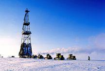 Oil Exploration in Alaska / This album samples pictures of oil companies drilling in Alaska