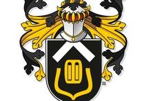 Heraldic design / New family coats of arms of my own design, 2008-now -  Nieuwe zelf ontworpen familiewapens, 2008-nu