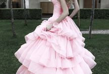 Gowns ~ Gorgeous  / Pale, pastel & pretty gowns / by Donna Weisse