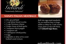 Recipes / Find out how to make the best Italian dishes with Gebardi foods. #recipes #Italianfoods gebardifoods.com