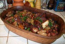 romai tálas, tepsis  ételek