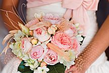 Wedding - Pink / pink dresses flowers and decor wedding inspiration