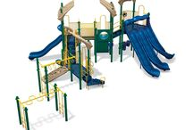 Fitness-based Playgrounds / Play & Park Structures understands the importance of physical activity and a healthy lifestyle for children so we create play environments that are not only fun, but also challenging.