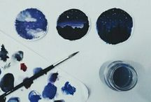diy galaxy paint